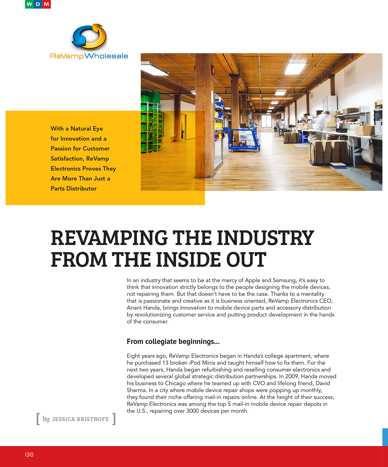 Revamping The Industry